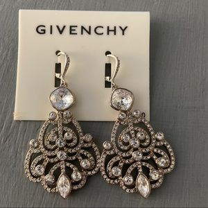 Givenchy Crystal Earrings NEW